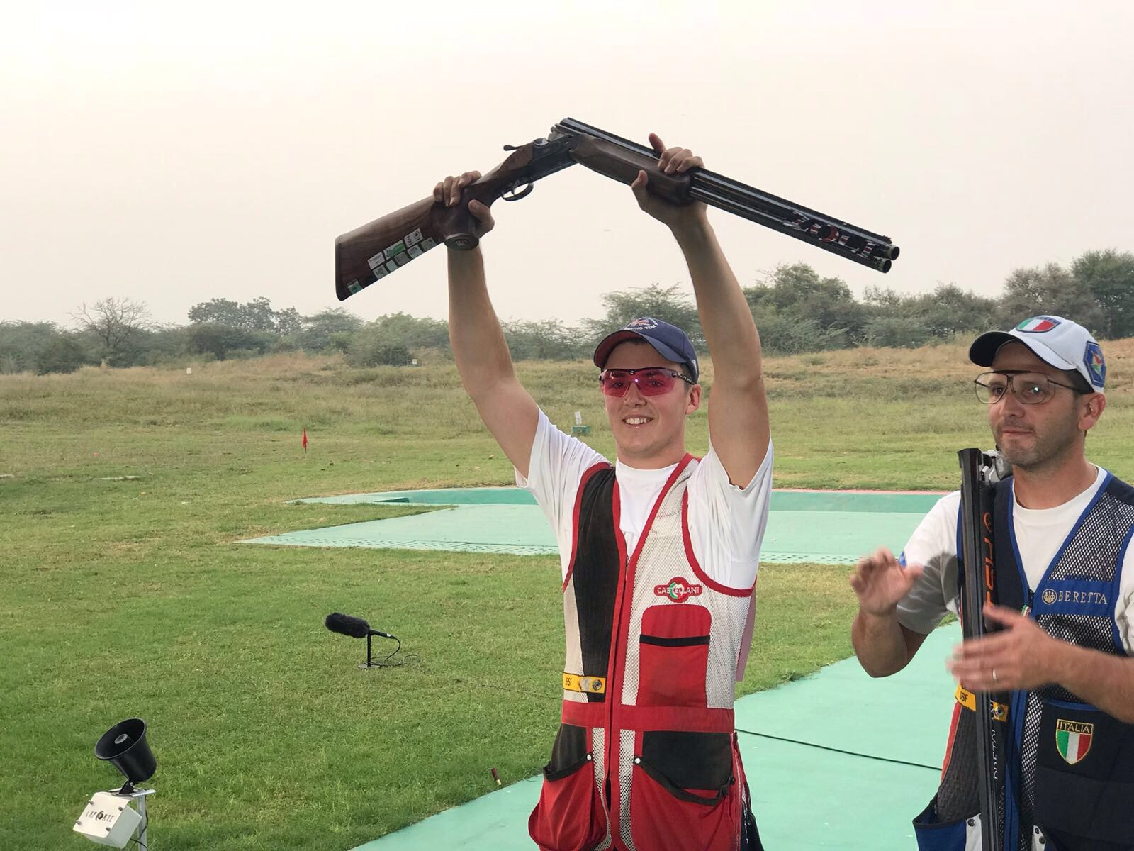 Ben Llewellin takes Silver at the ISSF World Cup in New Dehli